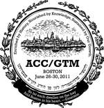 ACCGTM 2011